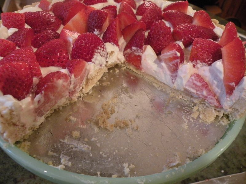 Strawberry pie 007