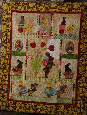 Easter Qult Pattern Free Patterns