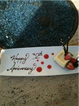 Anniversary at ritz
