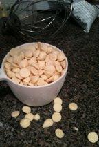 White choc chips