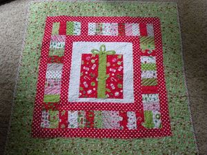 Quilt xmas gift