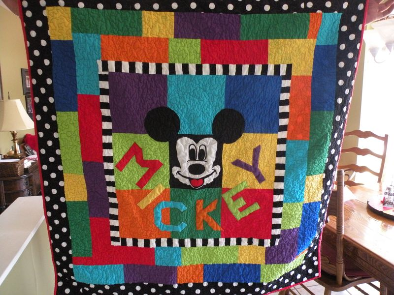 Quilt mickey
