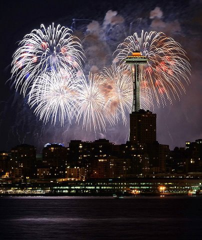 Seattle fireworks