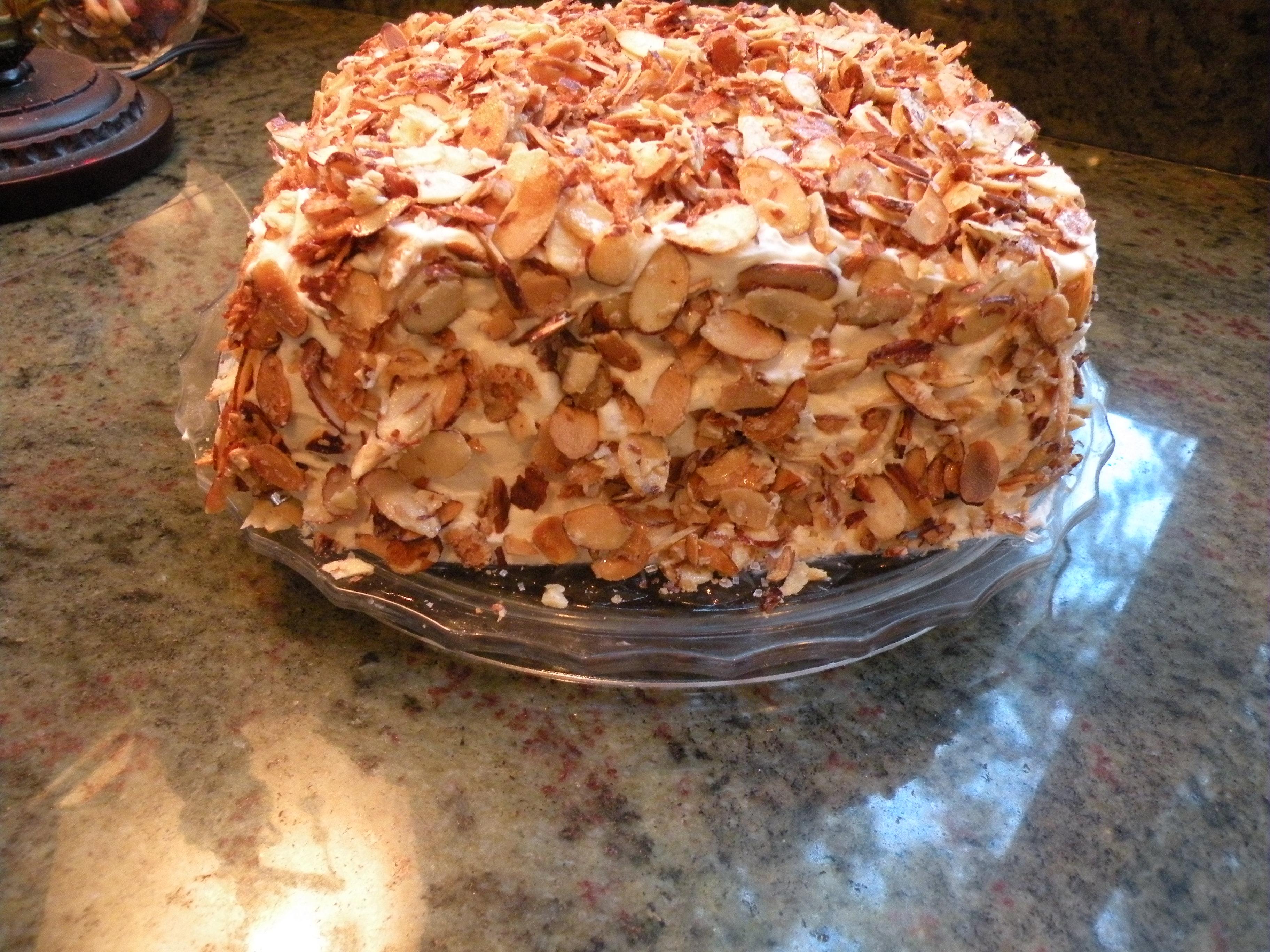 burnt almond cake san jose