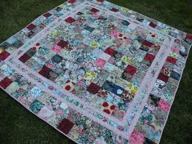 Rose quilt